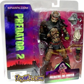 McFarlane Toys Alien and Predator Refresh Action Figure Predator 2 The Hunter BLOWOUT SALE!