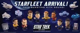 Star Trek 2009 Movie Set of 16 Burger King Club BK Toys