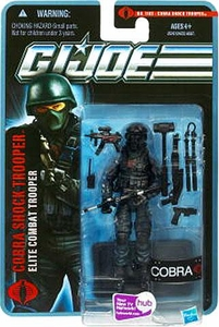 GI Joe Pursuit of Cobra 3 3/4 Inch Action Figure Cobra Shock Trooper [Elite Combat Trooper]