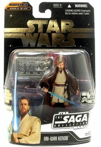 Star Wars Saga 2006 Basic Action Figure Obi-Wan Kenobi (Ultimate Galactic Hunt)