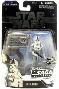 Star Wars Saga 2006 Basic Action Figure AT-AT Driver (Ultimate Galactic Hunt)