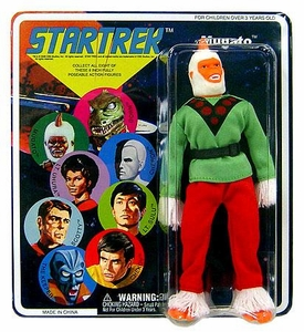 Diamond Select Star Trek Original Series Cloth Retro Action Figure Series 5 Mugatu