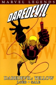 Marvel Comic Books Daredevil Legends Vol. 1 Yellow Trade Paperback