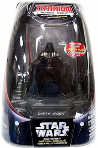 Star Wars Titanium Series Diecast 3 3/4 Figure Darth Vader [Original Finish]