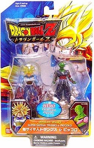 Dragonball Z Ultimate Sparks 2.5 Inch PVC Figure 2-Pack Super Saiyan Trunks & Piccolo
