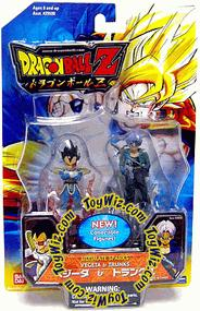 Dragonball Z Ultimate Sparks 2.5 Inch PVC Figure 2-Pack Vegeta & Trunks
