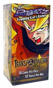 Dragonball GT Score Trading Card Game New Game Version Transformation Booster Box [12 Packs]