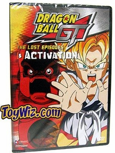 Dragon Ball GT DVD 01: The Lost Episodes - Activation (UNCUT)