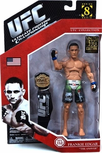 UFC Ultimate Fighting Jakks Pacific Series 8 Deluxe LIMITED EDITION Action Figure Frankie Edgar Only 100 Made!