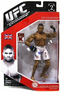 UFC Jakks Pacific Exclusive Series 2 Deluxe Action Figure Alistair Overeem
