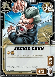 Dragonball Bandai Warriors Return Single Card Rare WA-035 Jackie Chun