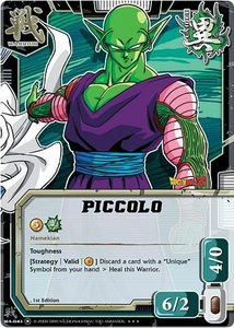 Dragonball Bandai Warriors Return Single Card Gold Foil Super Rare WA-043 Piccolo