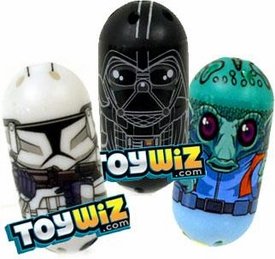 Star Wars Mighty Beanz Lot of 3 RANDOM Star Wars Single Beanz