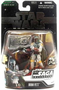 Star Wars Saga 2006 Basic Action Figure Boba Fett (Ultimate Galactic Hunt)