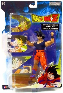 Dragonball Z Series 18 Action Figure Goku with Fabric Shirt