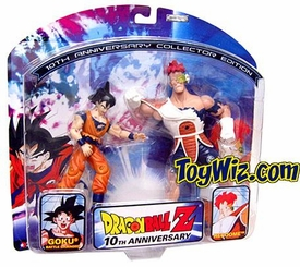 Dragon Ball Z 10th Anniversary Action Figures 2 Pack Recoome vs. Battle Damaged Goku