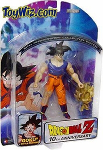 Dragon Ball Z 10th Anniversary Action Figures Battle Damaged Goku