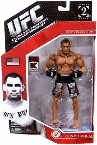 UFC Jakks Pacific Exclusive Series 2 Deluxe Action Figure Cain Velasquez