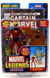 Marvel Legends Series 15 Action Figure Captain Marvel [Modok Build-A-Figure]