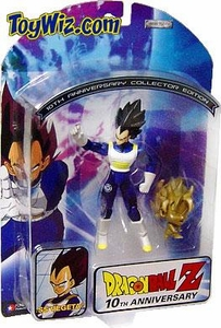 Dragon Ball Z 10th Anniversary Action Figure SS Vegeta