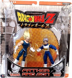 Dragon Ball Z Final Run Series 1 Father and Son Action Figure 2-Pack SS Vegeta & Trunks