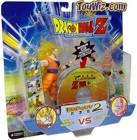 Dragon Ball GT Budokai Battles Action Figure 2-Pack SS3 Goku vs. Kid Buu