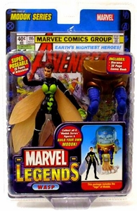 Marvel Legends Series 15 Action Figure Wasp [Modok Build-A-Figure]