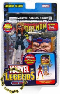 Marvel Legends Series 15 Action Figure Spider-Woman Julia Carpenter Variant [Modok Build-A-Figure]