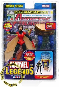 Marvel Legends Series 15 Action Figure Wasp Red Variant [Modok Build-A-Figure]