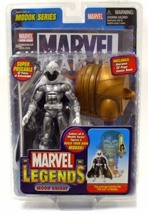 Marvel Legends Series 15 Action Figure Moon Knight Silver Variant [Modok Build-A-Figure]