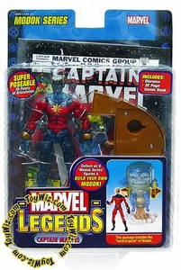 Marvel Legends Series 15 Action Figure Captain Marvel Genis-Vell Variant [Modok Build-A-Figure]