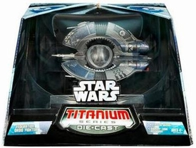 Star Wars Titanium Series Diecast Ultra Droid Tri-Fighter