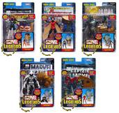 Marvel Legends Series 15 Variant Set of All 6 Action Figures [Modok Build-A-Figure]