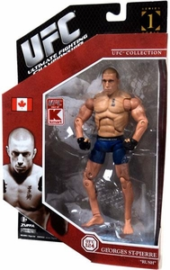 UFC Jakks Pacific Exclusive Series 1 Deluxe Action Figure Georges St. Pierre [GSP]