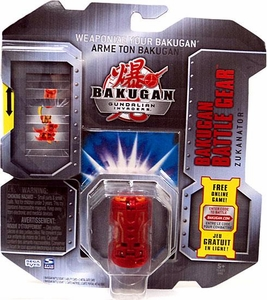 Bakugan Battle Gear Single Figure Pyrus Nova 12 [Red] Zukanator Adds 80 G!