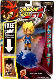 Dragonball GT Series 2 Action Figure Super Saiyan [SS] Goku