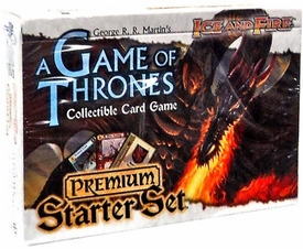 A Game Thrones Collectible Card Game Ice & Fire Premium Starter Set