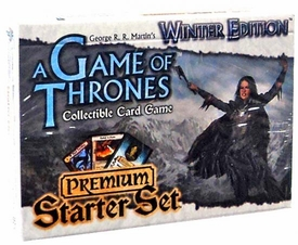 A Game Thrones Collectible Card Game Winter Edition Premium Starter Set
