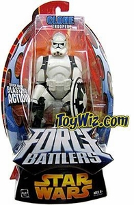 Star Wars EIII Revenge of the Sith Force Battlers Action Figure Clone Trooper