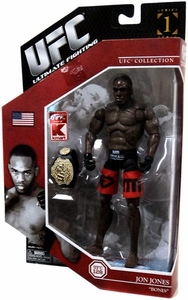UFC Jakks Pacific Exclusive Series 1 Deluxe Action Figure Jon Bones Jones