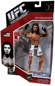 UFC Jakks Pacific Exclusive Series 1 Deluxe Action Figure Clay Guida