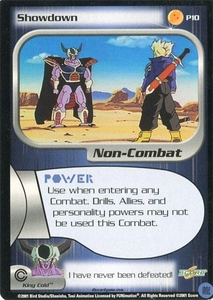 Dragonball Z CCG Collectible Card Game Single Card Promo PR-10 Showdown