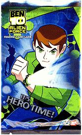 Ben 10 Alien Force Trading Card Game Series 1 It's Hero Time Booster Pack