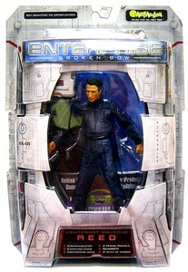 Star Trek Enterprise Broken Bow Art Asylum Action Figure Lieutenant Malcolm Reed