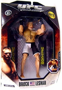 UFC Jakks Pacific Exclusive Series 0 Deluxe Action Figure Brock Lesnar