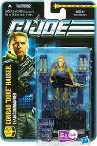 GI Joe Pursuit of Cobra 3 3/4 Inch Action Figure Conrad Duke Hauser [Team Commander]
