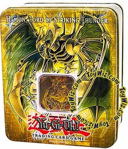 YuGiOh GX 2006 Wave 2 Collector Tin Set Hamon, Lord of Striking Thunder
