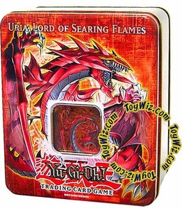 YuGiOh GX 2006 Wave 2 Collector Tin Set Uria, Lord of Searing Flames