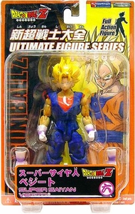 Dragonball Z Ultimate Figure Series 9 Super Poseable Action Figure Super Saiyan Vegito [Purple Gloves]