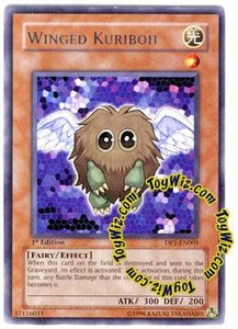 YuGiOh GX Duelist Pack Jaden Single Card Rare DP1-EN005 Winged Kuriboh